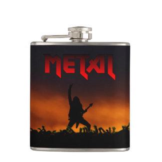Heavy metalkonsertflaska fickplunta