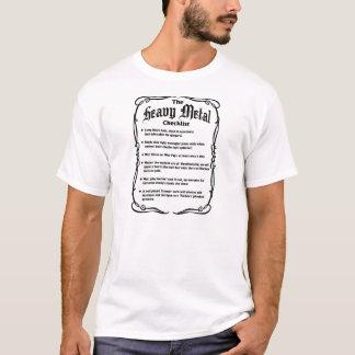 Heavy metalkontrollistan t-shirts