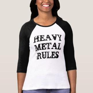 HEAVY METALREGLER TSHIRTS