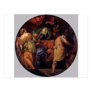 Heder av Paolo Veronese Vykort