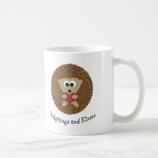 Hedgehugs och kyssigelkott kaffemugg