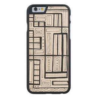 Hedrat fundersamt lyckligt fenomenalt carved lönn iPhone 6 skal