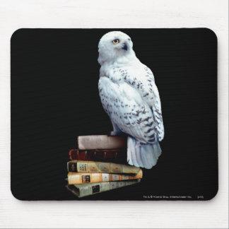 Hedwig på bokar musmatta