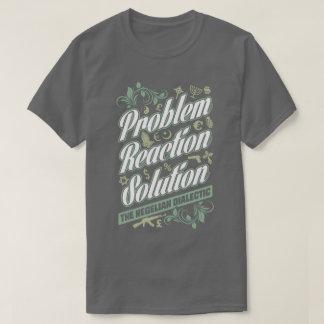 Hegelian utslagsplats för lösning för tee shirts