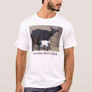 Heidi & lockigt stämm, det är nu VERKLIG MJÖLK T-shirts