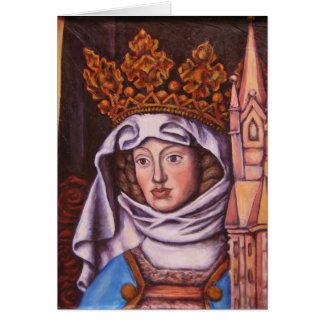 Heilige Sankt Elisabet von Thüringen Hälsningskort