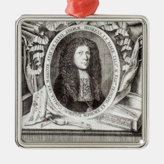 Heinrich Ignaz Franz von Biber Julgransprydnad Metall