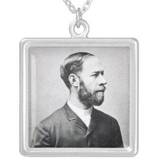 Heinrich Rudolph Hertz Silverpläterat Halsband
