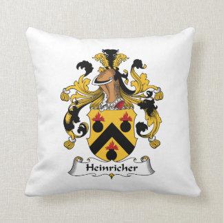 Heinricher familjvapensköld kudde
