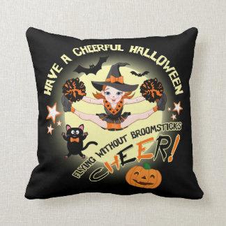 Hejaklacksledare Halloween Kudde