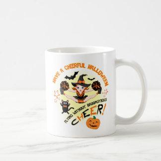 Hejaklacksledare Halloween mugg Kaffemugg