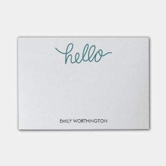 Hejbokstäveranpassningsbar Postar-it® noterar Post-it Block