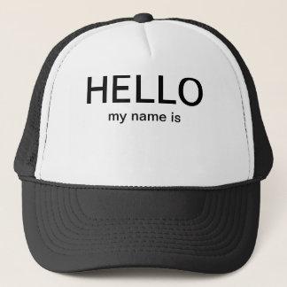 Hejen mitt namn är hatten keps