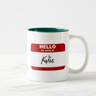 Hejen mitt namn är (röda) Kylie, Två-Tonad Mugg