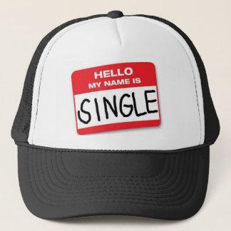 Hejen mitt namn är singelhatten truckerkeps
