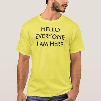 Hejer alla utslagsplats t shirt