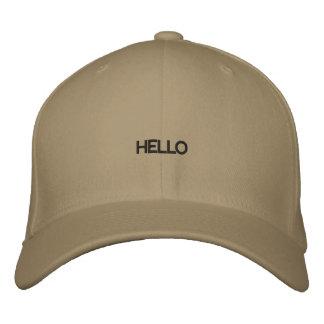 Hejer broderad hatt broderad keps