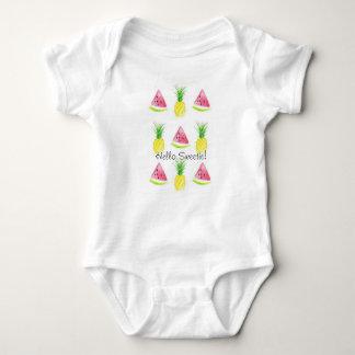 HejSweetievattenmelonen och ananas förkroppsligar Tee Shirt