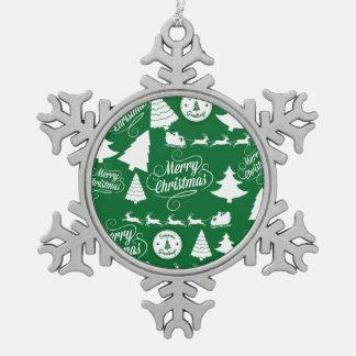 Helgdag för god julträdSanta ren Julgranskulor