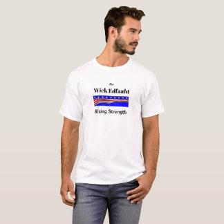Helgdag för jul för styrka för filtEdfaaht resning T-shirt