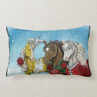 Helgdag Horses~pillow Lumbarkudde