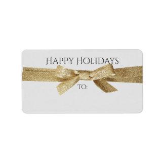 Helgdagar tilltalar, eller gåvan märker | det adressetikett