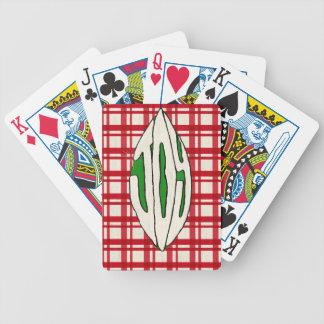 Helgdagprydnadglädje Spelkort