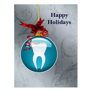 helgdagskort för silverblåtttandläkare vykort