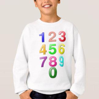 Helheten numrerar, eller räkna numrerar till 9 tröja