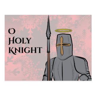 Helig riddare för nolla vykort