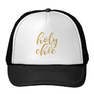 Heligt chic guld- glitter keps