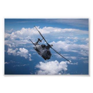 Helikopter för EH101 Merlin Fototryck