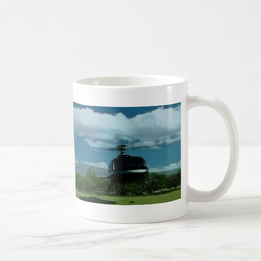 Helikopter på en kopp mugg