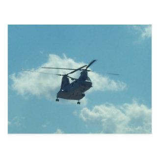 Helikopter Vykort