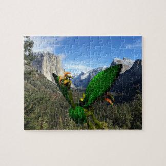 "Helios på Yosemite pussel 8"" x 10"" 110 lappar"