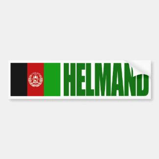 Helmand - Afghanistan flagga Bildekal
