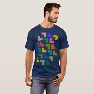 Helpy/manar grundläggande mörka T-tröja T-shirts