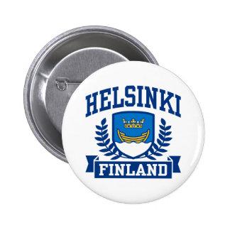 Helsingfors Finland Knapp Med Nål