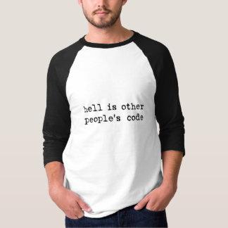 helvete är annat folk kodifierar t-shirt