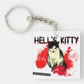 Helvete kattunge KeyChain