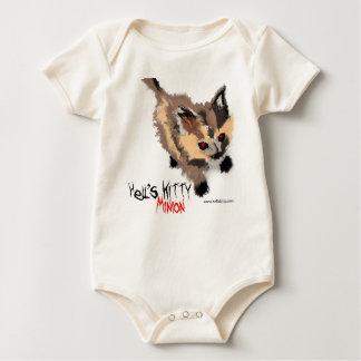 Helvete ranka för kattungeskyddsling body för baby