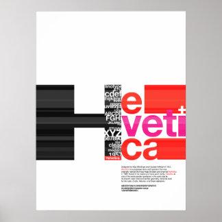 HELVETICA affisch