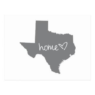 Hem- <3 Texas Vykort