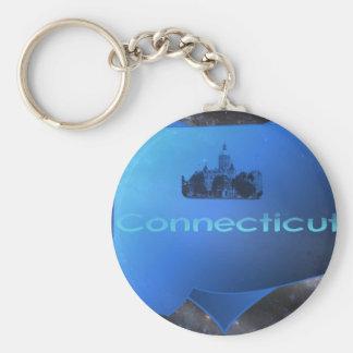 Hem- Connecticut Rund Nyckelring
