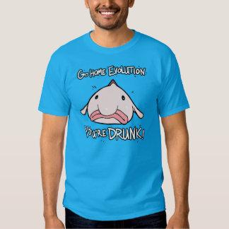 Hem, går evolution.  Du drunk.s T Shirt