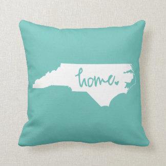 Hem- North Carolina beställnings- färg Kudde