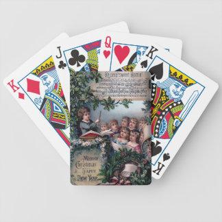 Hem- sötsakhem för jul spelkort