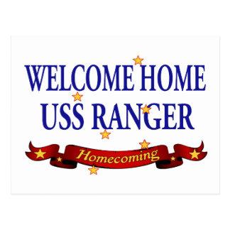 Hem- USS skogsvaktare för välkomnande Vykort