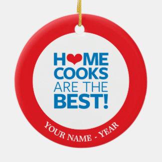 Hemkockar är det bäst julgransprydnad keramik