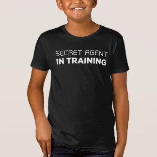 Hemlig agent i utbildningsT-tröja T-shirts